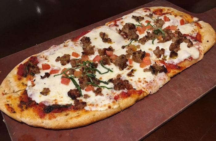 Tony's Town Square's sausage pizza