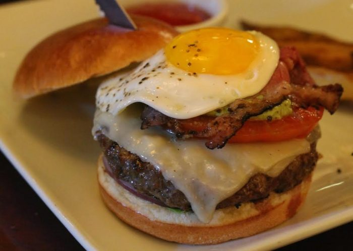 Brown Derby's Grilled Wagyu Beef Burger