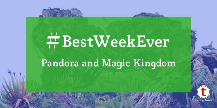 Best Week Ever at Pandora and Magic Kingdom