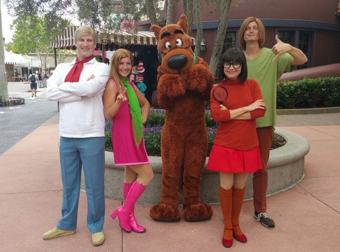 The six best universal meet and greets touringplans the scooby gang ccuart Gallery