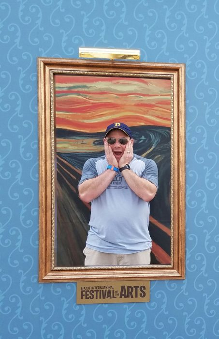 Recreate classic works of art at Epcot's Festival of the Arts