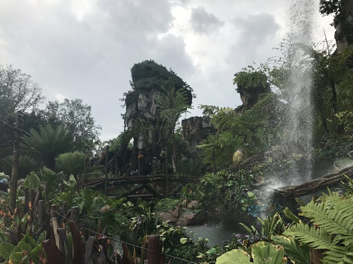 Valley of Mo'ara in Pandora at Disney's Animal Kingdom