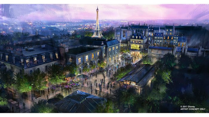 Ratatouille Inspired ride coming to France Pavilion at Epcot