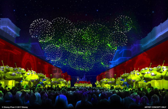 Pixar Fireworks