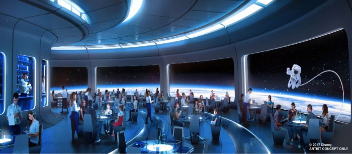 Mission: SPACE Restuarant