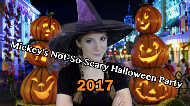 mickeys not so scary halloween party 2017 video touringplanscom blog