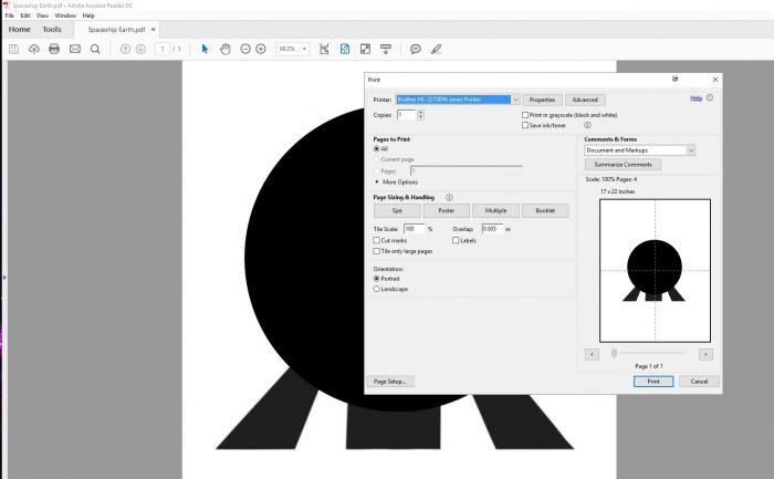 Adobe pin art screenshot