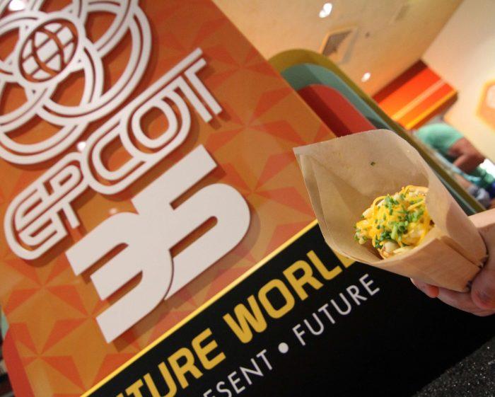 Epcot Legacy Showplace's Zesty Macaroni Handwich