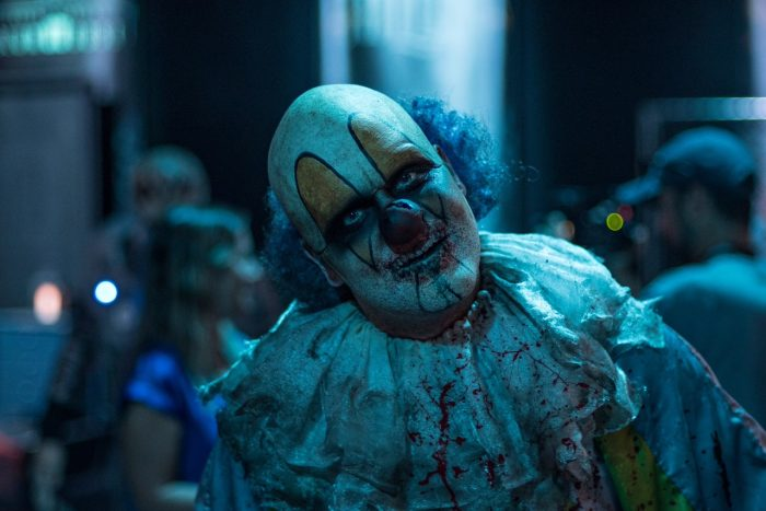 a clown from roaming hordes photo by travis terrell