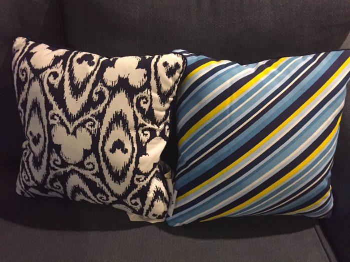 Fancy Pillows photo by Julia Mascardo
