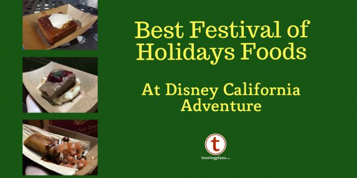 Festival Of Foods Disney California Adventure