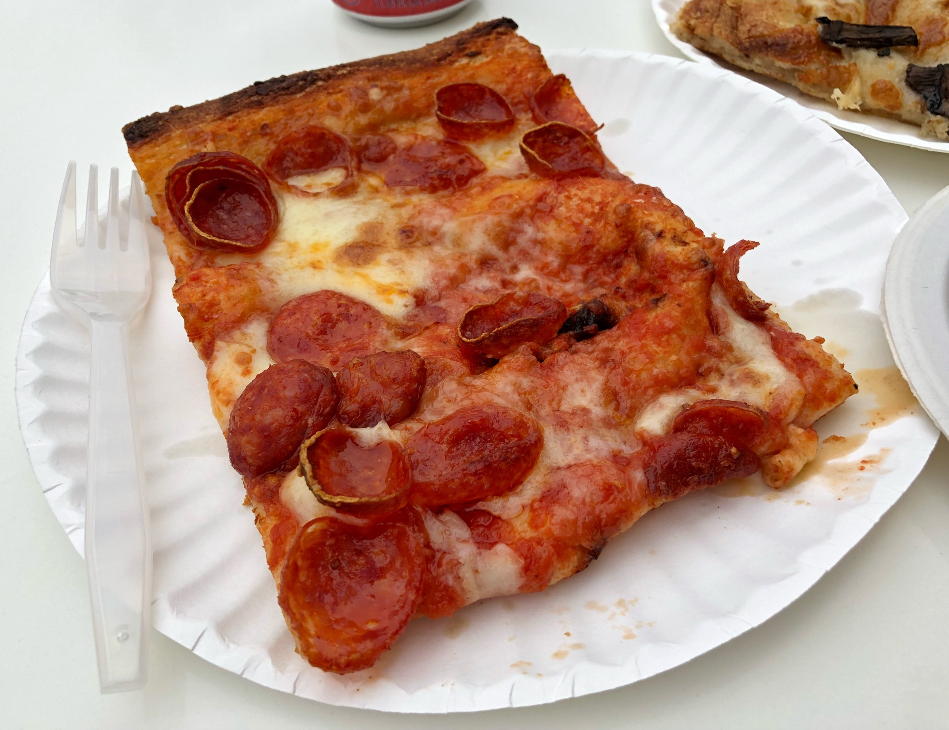 Pepperoni slice