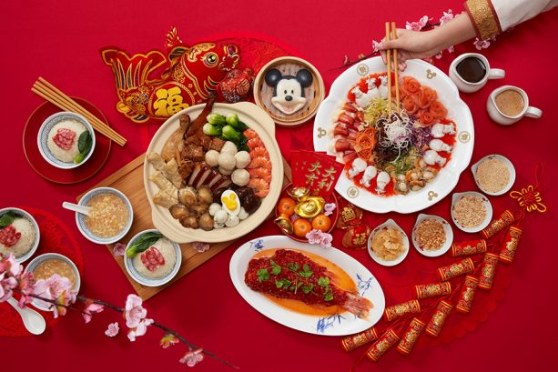 Shanghai Disneyland Chinese New Year