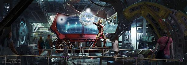 DLP Marvel Coaster