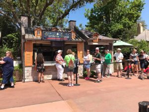 Epcot Flower and Garden Festival Outdoor Kitchens