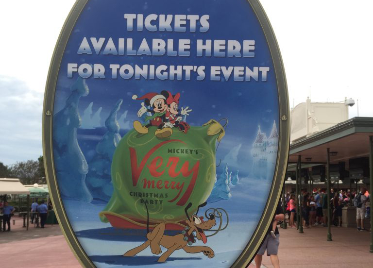 tickets now on sale for 2018 mickeys very merry christmas party - Disney Christmas Party Tickets