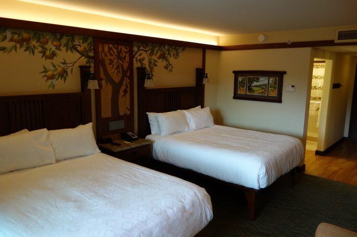 Review of refurbished rooms at disney s grand californian - Disney grand californian 2 bedroom suite ...