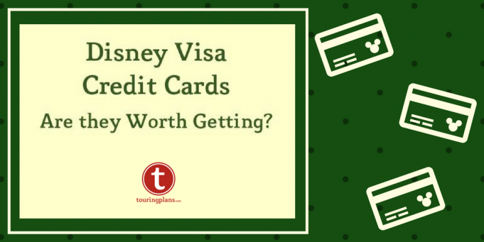 Should I get a Disney credit card before heading to Disney World?