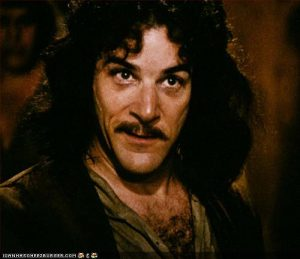 Inigo Montoya's reaction to the pricing of Disney Value resorts.