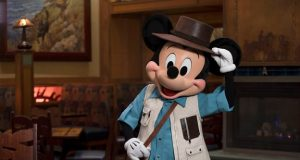 character meal with Mickey