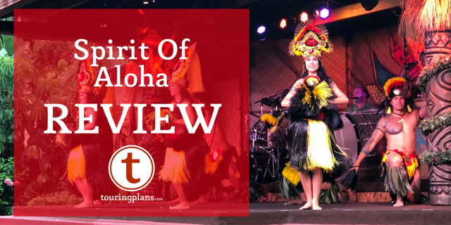 Say Aloha to Disney's Spirit of Aloha - TouringPlans com Blog