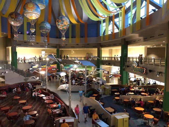 Epcot The Land Food Court Menu