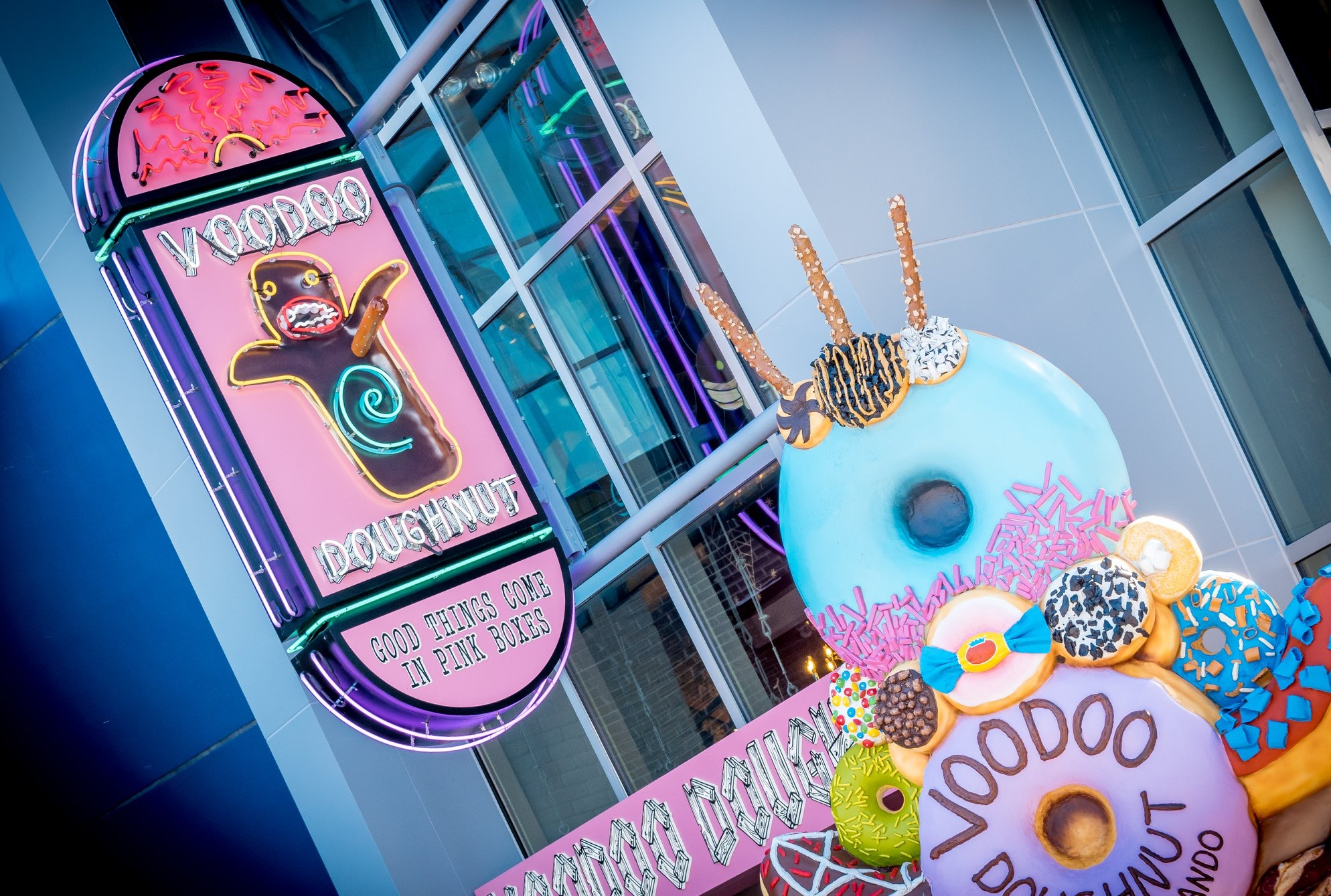 9ad2108d21bea SATURDAY SIX  6 Reasons We Love VOODOO DOUGHNUT at Universal CityWalk