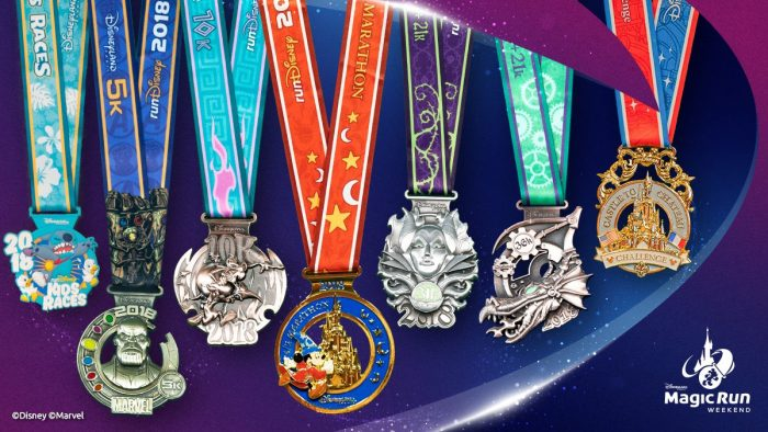 Disneyland Paris medals