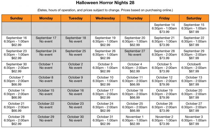 Halloween Horror Nights 28 Preview Touringplans Com Blog